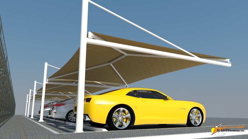 IA.2.A. Car parking Shade- (Hip type) for single or more parking spaces